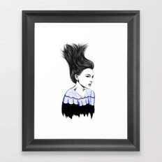WIND TUNNEL Framed Art Print