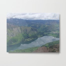 Lake Bohinj, Slovenia Metal Print