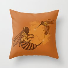 Fencing Throw Pillow