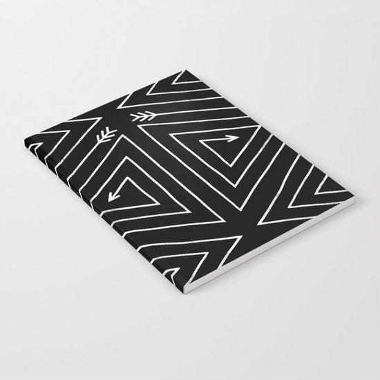 Arrow Triangle  Notebook