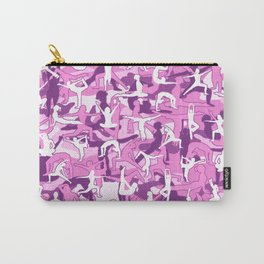 Yoga Harmony Camo PINK Carry-All Pouch