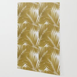 Palm Leaf Gold III Wallpaper
