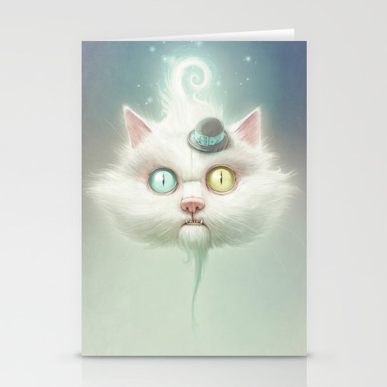 Release the Odd Kitty!!! Stationery Cards