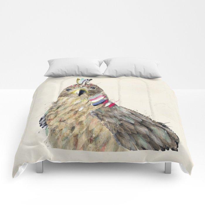 the hawk Comforters