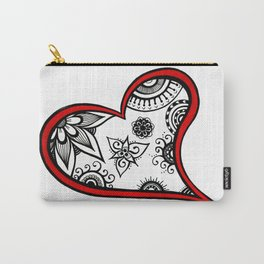 Tangled heart Carry-All Pouch