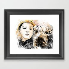 Best Friends Framed Art Print