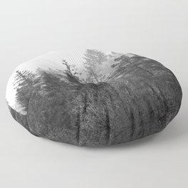 Grey day Floor Pillow