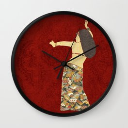 Belly dancer 12 Wall Clock