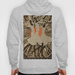 African American Masterpiece 'Dance Competition 35' by E. Cortor Hoody