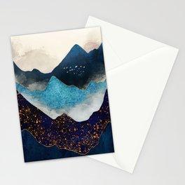Indigo Peaks Stationery Cards
