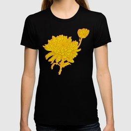 Chysanthemum in Saffron T-shirt