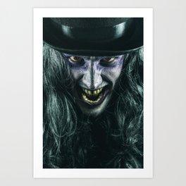 The Creeper Art Print
