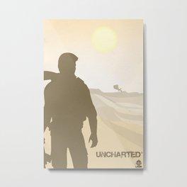 Vector Uncharted Metal Print