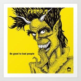 The Crampus Art Print