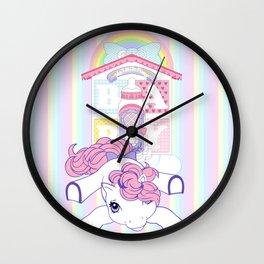 g1 my little pony baby lullabye nursery Wall Clock