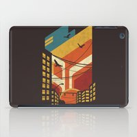 street art iPad Cases featuring Street by The Child