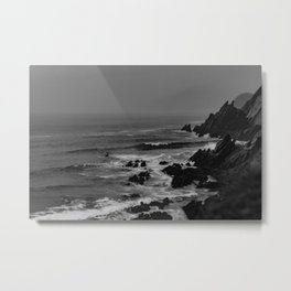 Rocky Coast of Ireland Metal Print