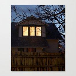 The Broken Home Canvas Print