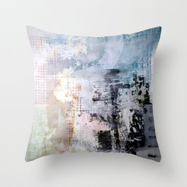 Session 29: Twisted Future (Flux in the Battlemarket) Throw Pillow