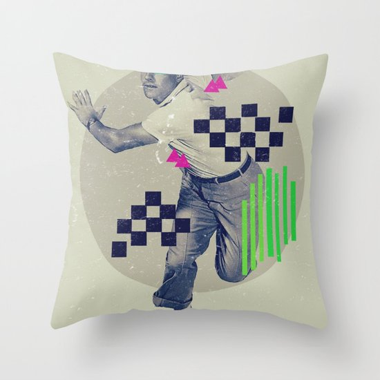 LXVI Throw Pillow