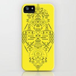 SIMETRIA - III iPhone Case
