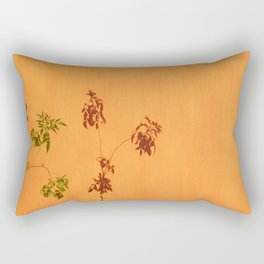 Shadow Plant Rectangular Pillow