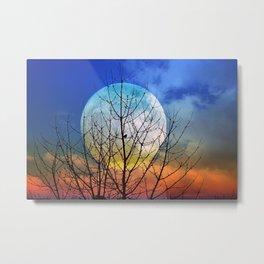 The moonwatcher Metal Print