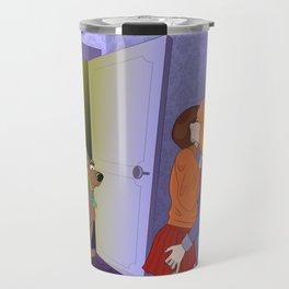 Scooby Velma Daphne Lesbian Cartoon Travel Mug