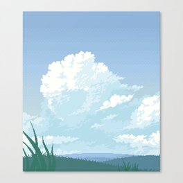 Cloudfront Canvas Print