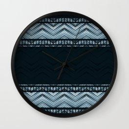 Night storm. Wall Clock
