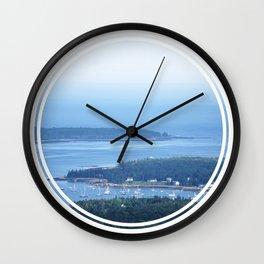 Bar Harbor, ME Wall Clock