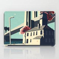 A pretty day at the brooklyn bridge iPad Case