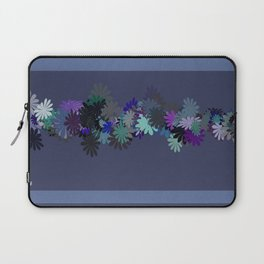 Floral Motif Laptop Sleeve