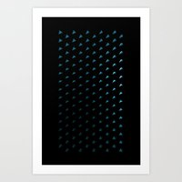 polygon Art Prints featuring Polygon by Evi Radauscher