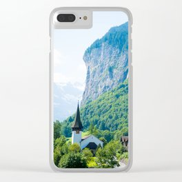 Swiss Alps Clear iPhone Case