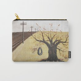 Tire Swing, Old Tree and Swing Painting Carry-All Pouch