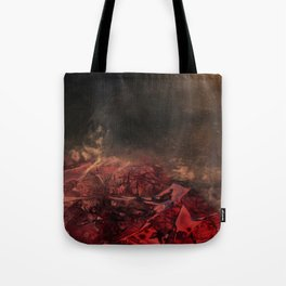 Morphing Mars Tote Bag