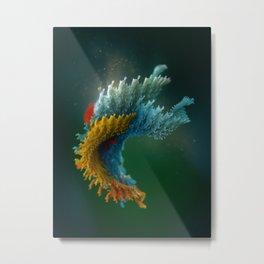 Chlorotiqua no.5 Metal Print