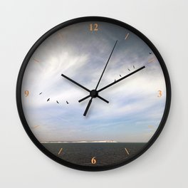 Birds Over Blighty Wall Clock