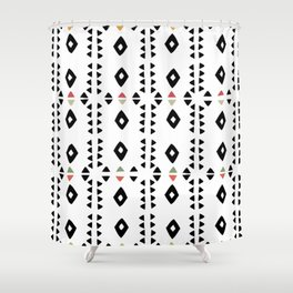 ALWAYS TRIANGLES Shower Curtain