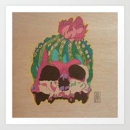 cactiskull Art Print