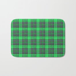 Lunchbox Green Plaid Bath Mat