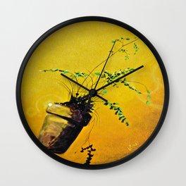 Ferdinand; The Fern that Can Wall Clock