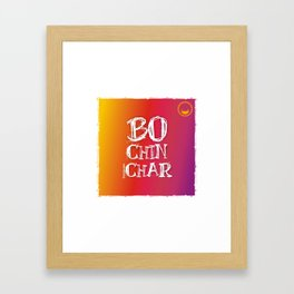"""""""Bochinchar"""" Framed Art Print"""