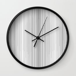 Parallel Lines Wall Clock