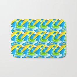 3D Pattern_02 Bath Mat