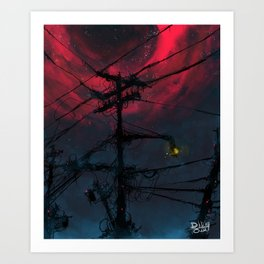 N.  Neighborhood Art Print