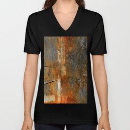 Rust Texture 72 Unisex V-Neck