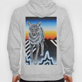 Geometric Coyote Hoody