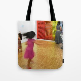 The twirl Tote Bag